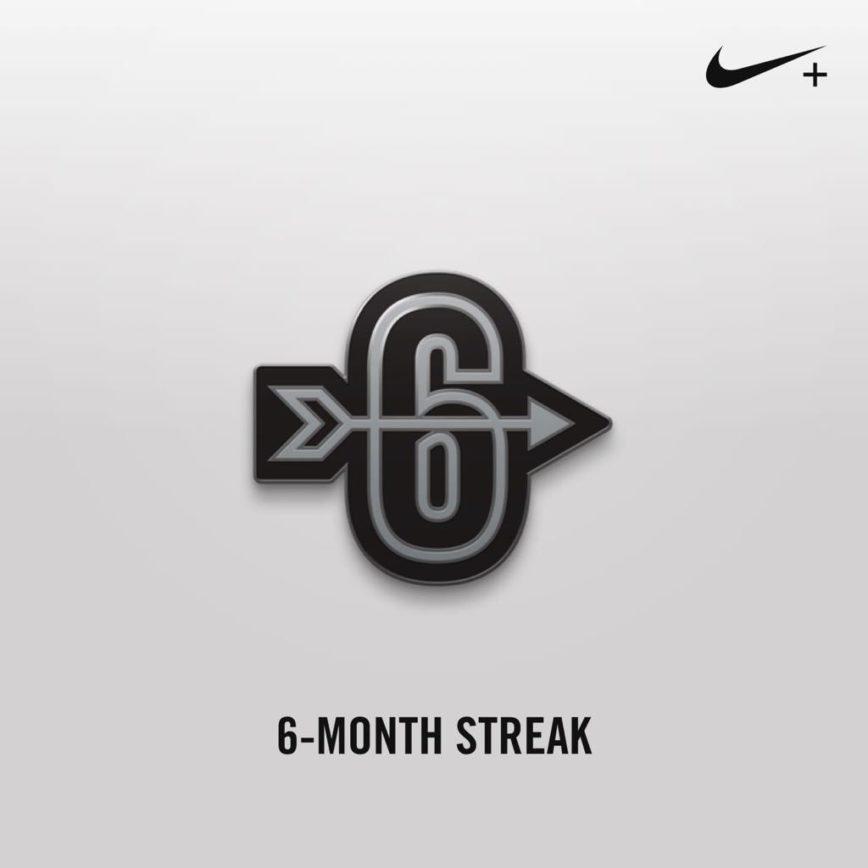 6 meses de corridas